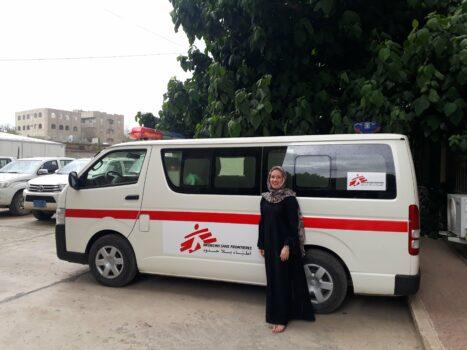 Marissa Gripenberg Jemenissä.