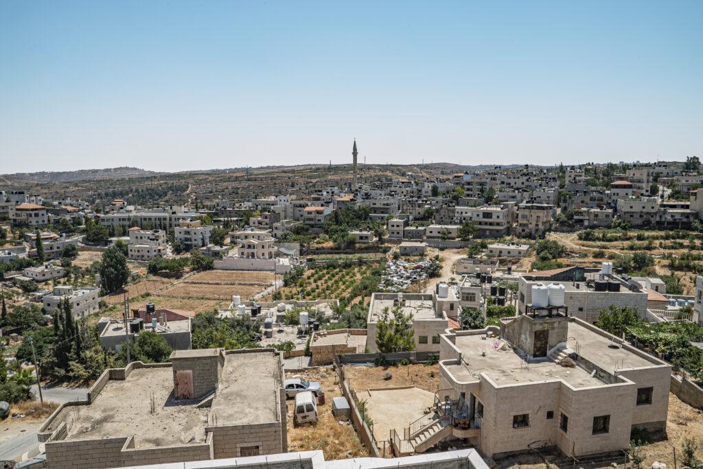 Kuva Hebronin kaupungista.